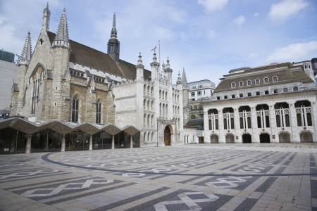 guildhall: The Guildhall in the City of London, England