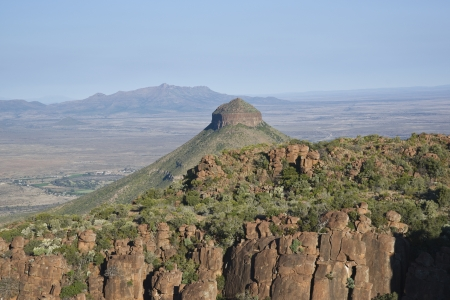 desolation: Valley of Desolation in Camdeboo National Park near Graaff-Reinet in the Eastern Cape of South Africa