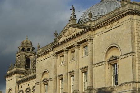 guild halls: Bath, England - 30 October 2011: The Guildhall. Historic Georgian building in Bath, Somerset, England.