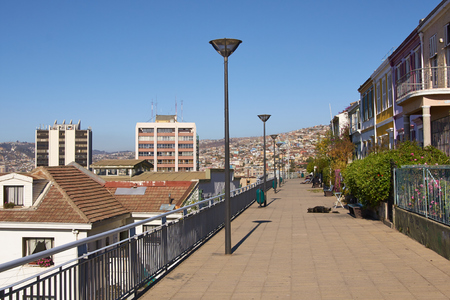 paseo: Paseo Atkinson  A promenade in the Concepcion district of Valparaiso in Chile that provides an excellent vantage point for looking out over the city and harbour