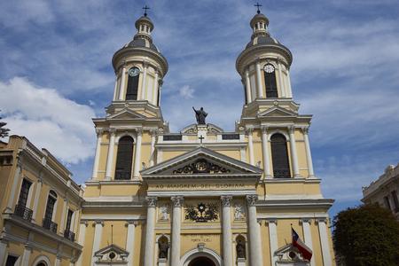 ignacio: Historic Iglesia de San Ignacio in Santiago, Chile