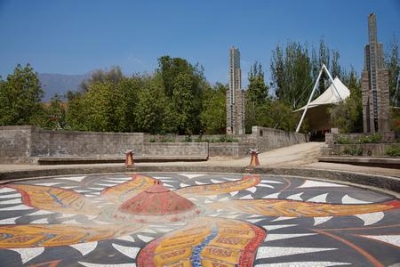 detained: Santiago, Chile - 19 de noviembre 2014: Villa Grimaldi en Santiago, Chile. Parque Memorial a las personas que fueron detenidas y torturadas durante el 1970