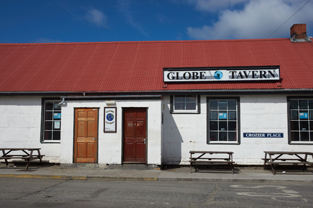 public house: The Globe Tavern, a Public House in Stanley, capital of the Falkland Islands Editorial