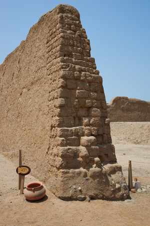 apogee: Remains of the historic city of Chan Chan near Trujillo in Peru. The city was the capital of the Chimu Kingdom which reached its apogee in the 15th Century. It is a UNESCO World Heritage Site.