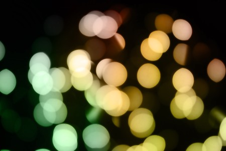 Lights shot purposefully out of focus. Could yse as a lens flare. Great use for a holiday or festive background! photo