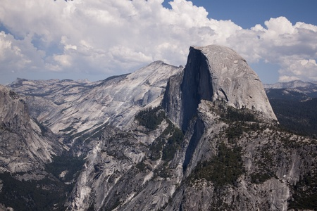 Yosemite National Park in the summer.