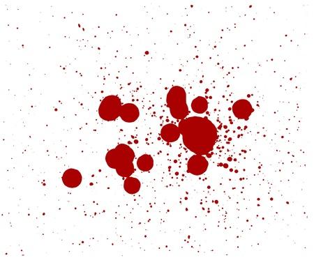 blood splatter red horror bloody gore drip murder violence Zdjęcie Seryjne