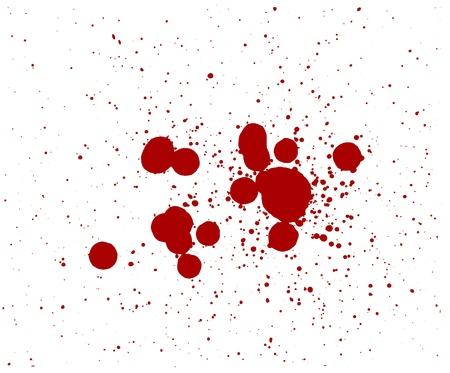 blood splatter red horror bloody gore drip murder violence Stock Photo - 9894982