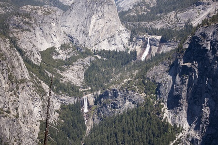 Yosemite National Park in the summer. photo