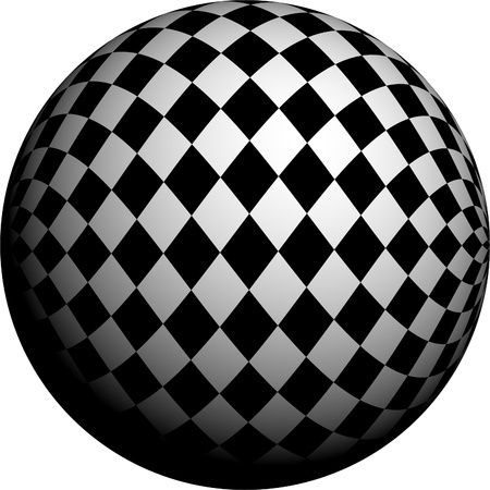 Round half tone images - round black white pattern design photo