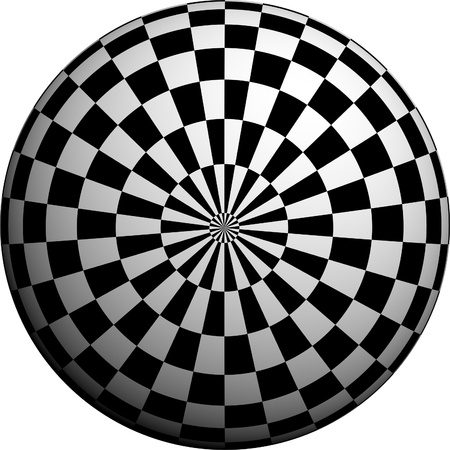 round: Round half tone images - round black white pattern design