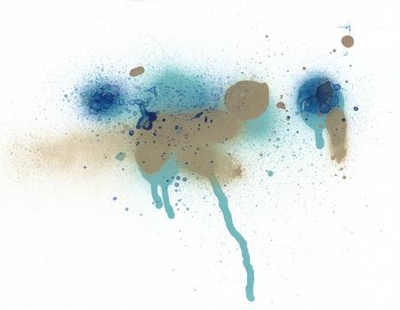 Graffiti spray paint background texture 版權商用圖片 - 9895717