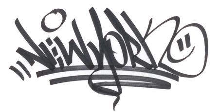 grafiti: Graffitti farby w aerozolu - spraypaint wandalizm grunge miasto miejski młodość