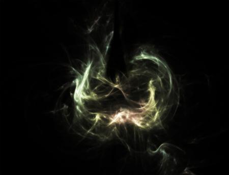 light wisp - art abstract aroma wisps smoke Stock Photo - 9895799