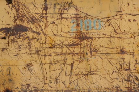 scratched: rusty metal texture - grunge old texture metallic