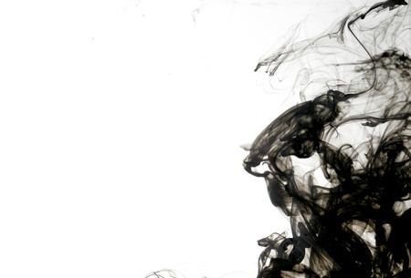 Smoke liquid ink in water 版權商用圖片 - 9895319