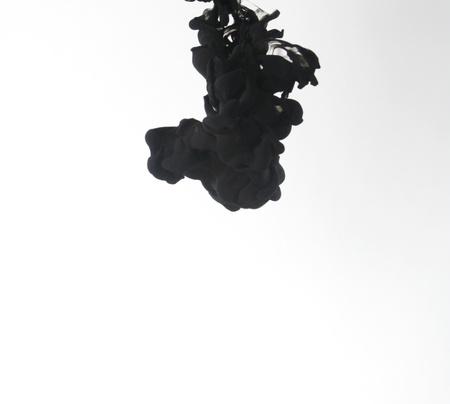 Smoke liquid ink in water 版權商用圖片 - 9895797