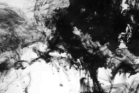 Smoke liquid ink in water photo