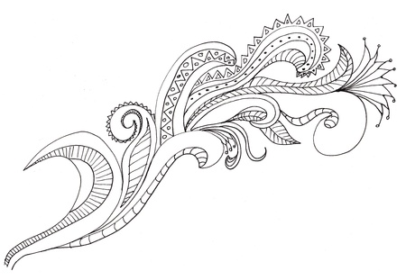 india pattern: Hand drawn Paisleys to help with your designs