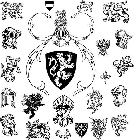 escudo de armas: heradry de alta resoluci�n