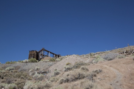 an old abandoned mine photo
