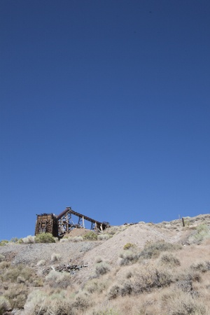 an old abandoned mine Stock Photo - 10366549