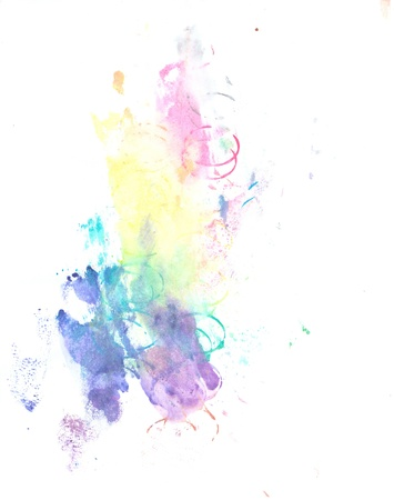 Water color paint splatter Stock Photo - 10449156