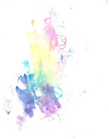 Water color paint splatter Stock Photo - 10449156