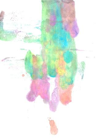 Water color paint splatter photo