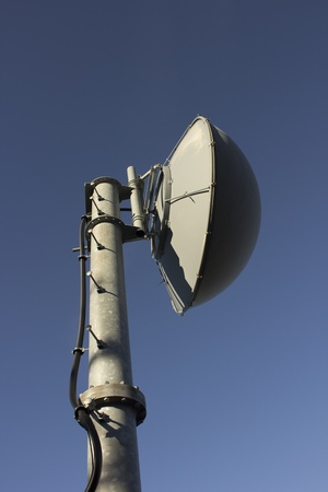 communication dishes. photo