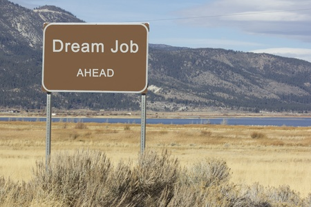 A road sign that is motivational and great for presentations and speeches. Stock Photo - 12300464