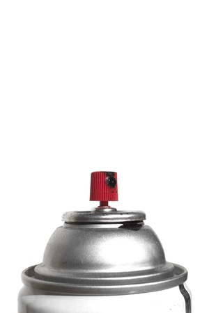 a high quality paont can on a white background. photo