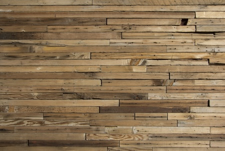 old wood floor: weathered old wooden planks. Stock Photo