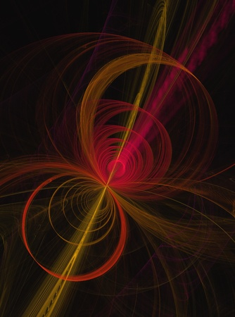 distorted image: A very high quality smoke fractul. great for flyers or design backgrounds. Stock Photo
