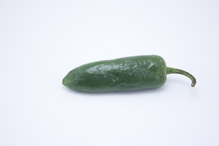 jalapeno pepper: Jalapeno pepper in a studio isolated on white