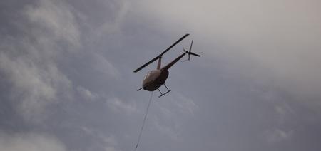 bucket water: Helicoptor con un fuego el agua cubo de lucha