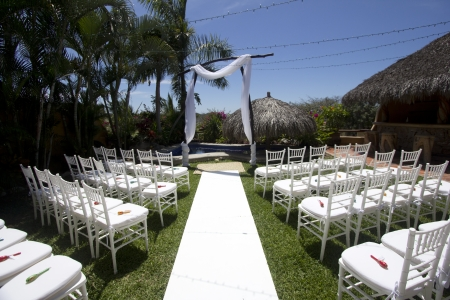 Tropical wedding in Mexico