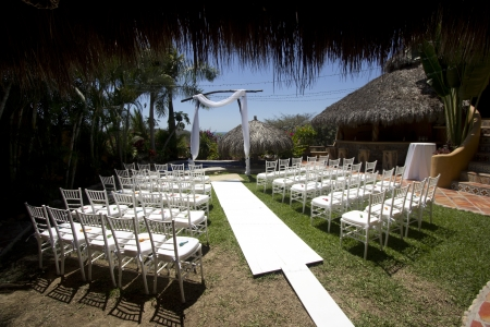 Tropical wedding in Mexico Stock Photo - 13853302