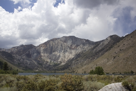 Convict Lake in northern California photo