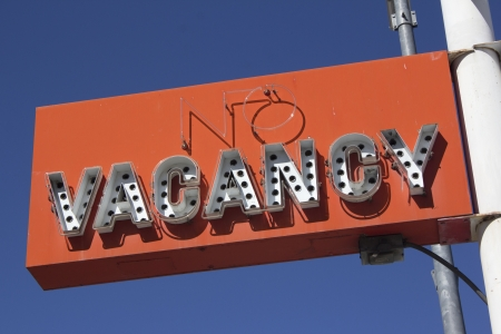 a retro neon sign in Reno Nevada photo