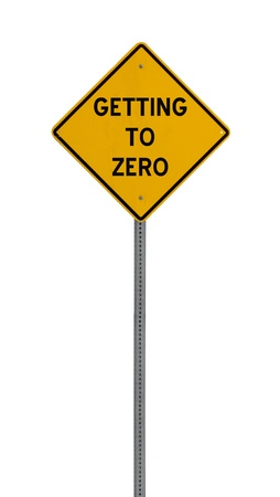 A yellow road warning sign isolated on white. Includes clipping path. 版權商用圖片 - 17924624