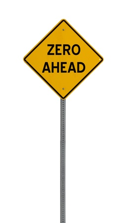 A yellow road warning sign isolated on white. Includes clipping path. 版權商用圖片 - 17924608