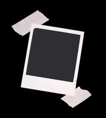 Vintage shabby grunge Polaroid frame frames Stok Fotoğraf