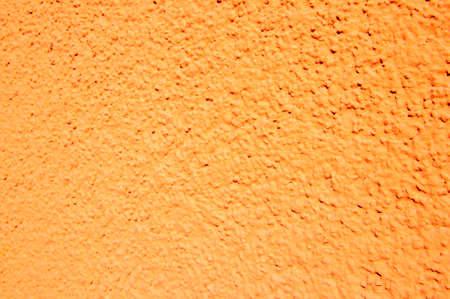 solid background: orange wall Stock Photo