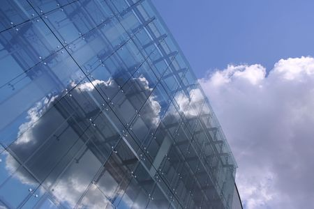 hitech: HI-TECH Clouds Stock Photo