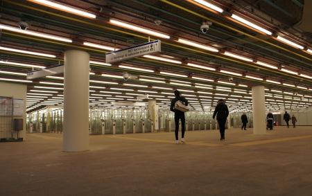 Subway station Rotterdam