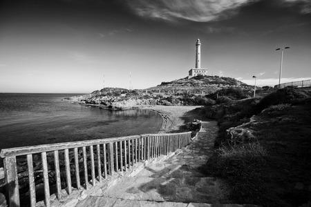 cartagena: Lighthouse in Cabo de Palos, Cartagena, Spain