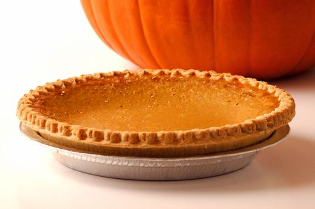 Fresh Pumpkin Pie Stock Photo - 5536951