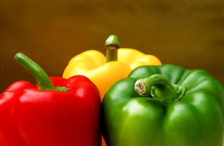 bell peppers: Bell Peppers Still life