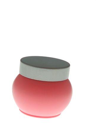 Pink Cream Jar